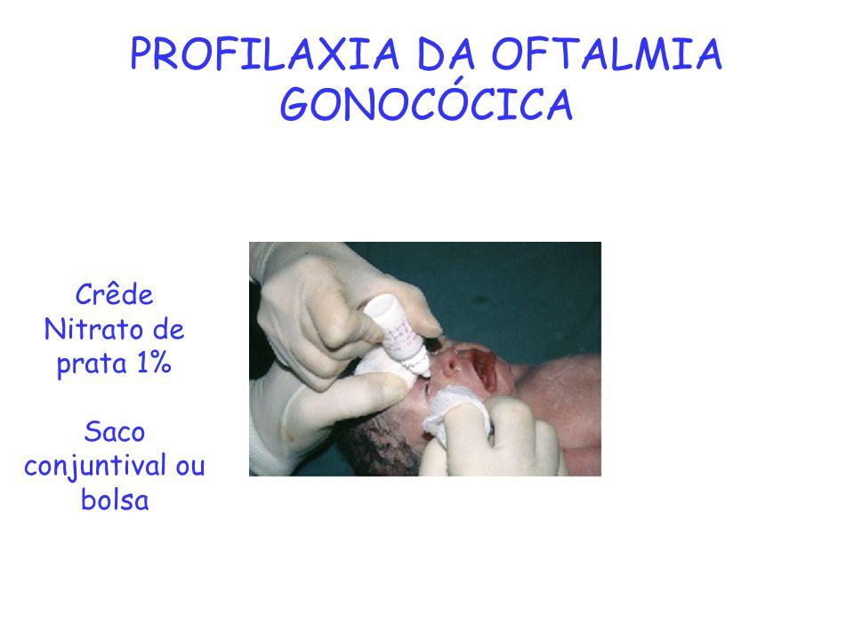 PROFILAXIA DA OFTALMIA GONOCÓCICA
