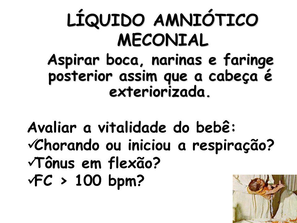 LÍQUIDO AMNIÓTICO MECONIAL