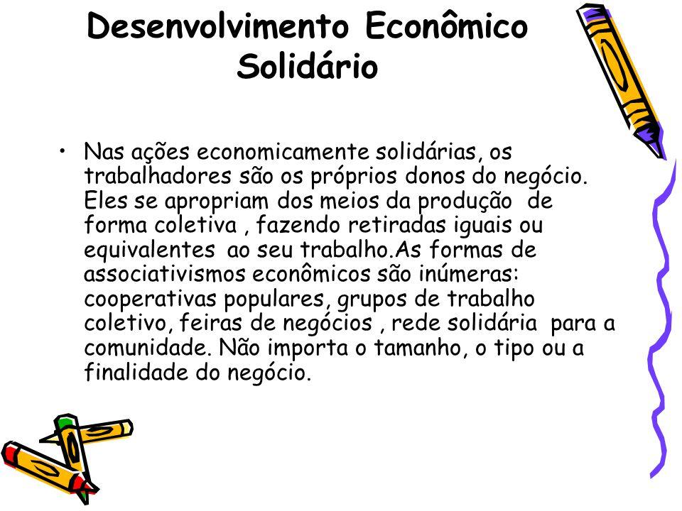 Desenvolvimento Econômico Solidário