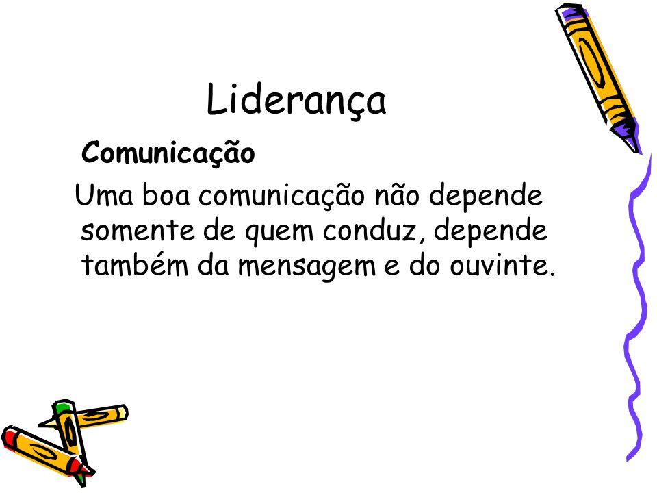 Liderança Comunicação