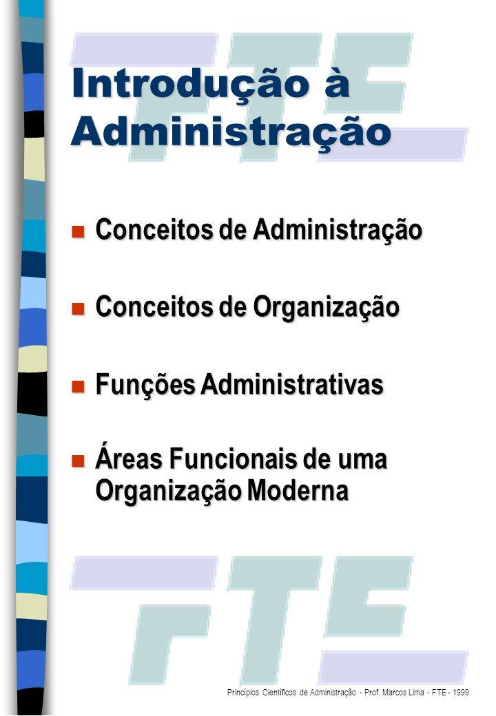 Introdução à Administração