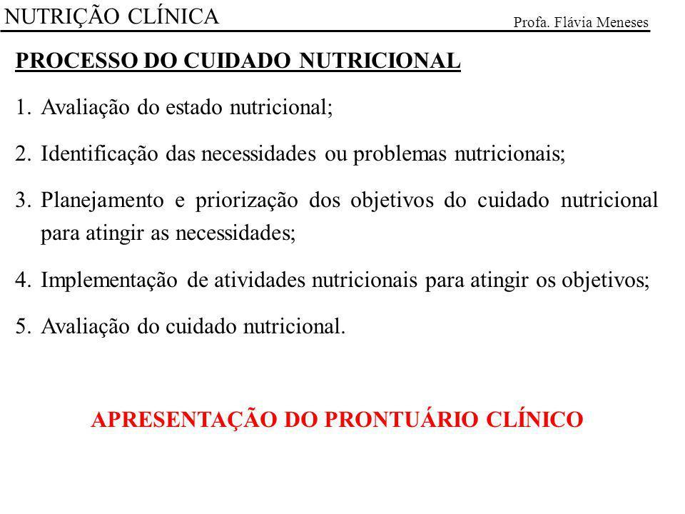 APRESENTAÇÃO DO PRONTUÁRIO CLÍNICO