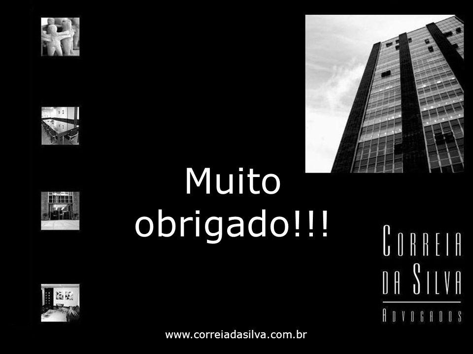 Muito obrigado!!! www.correiadasilva.com.br