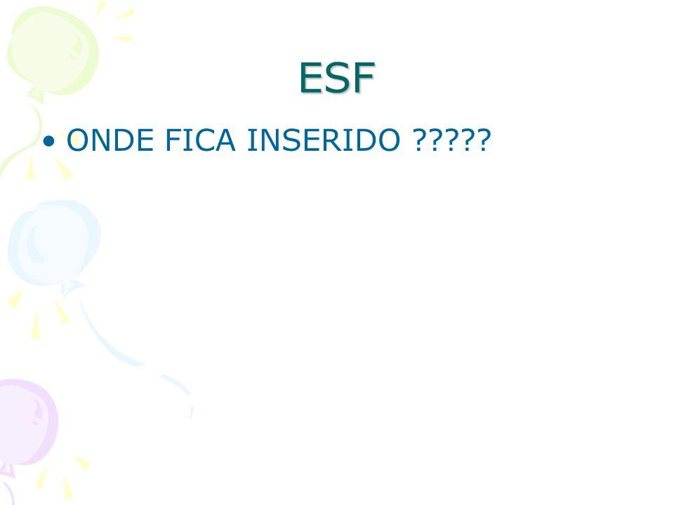 ESF ONDE FICA INSERIDO