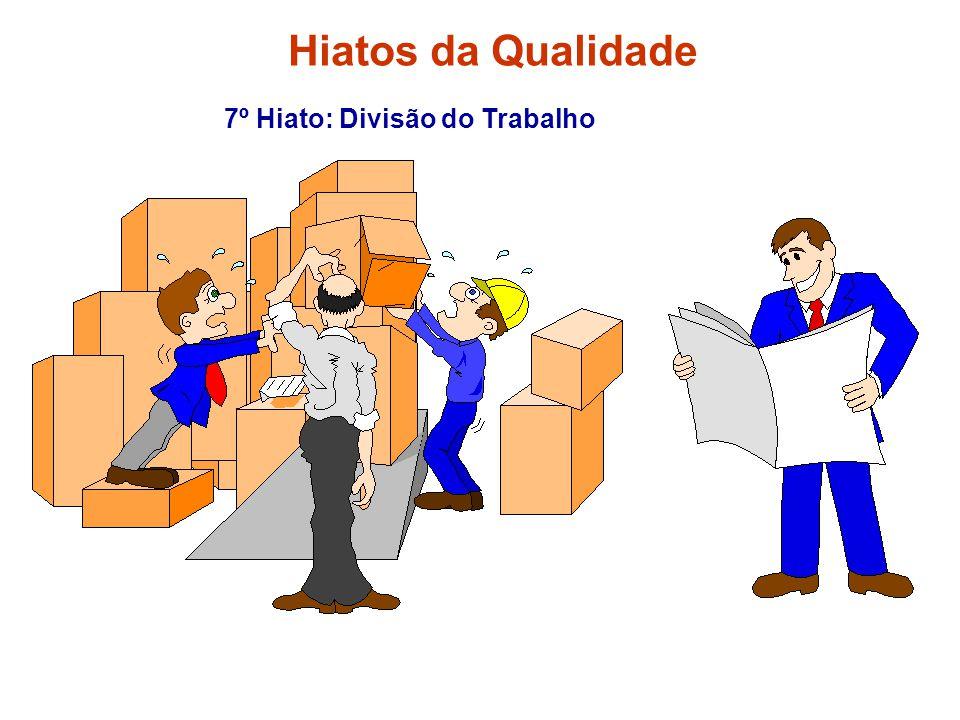 Hiatos da Qualidade 7º Hiato: Divisão do Trabalho