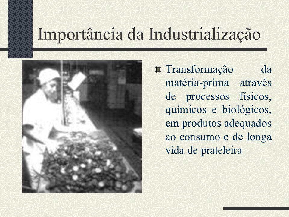 Importância da Industrialização