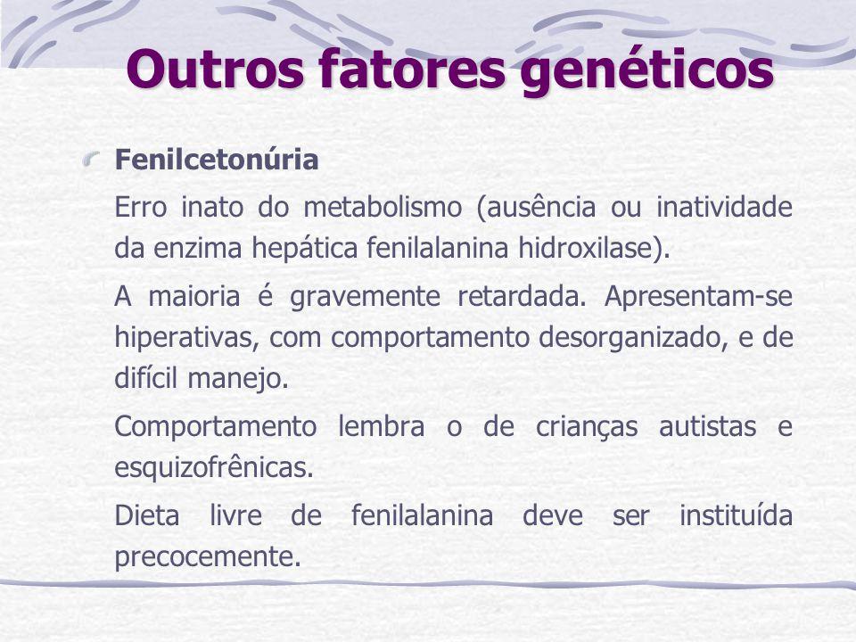 Outros fatores genéticos