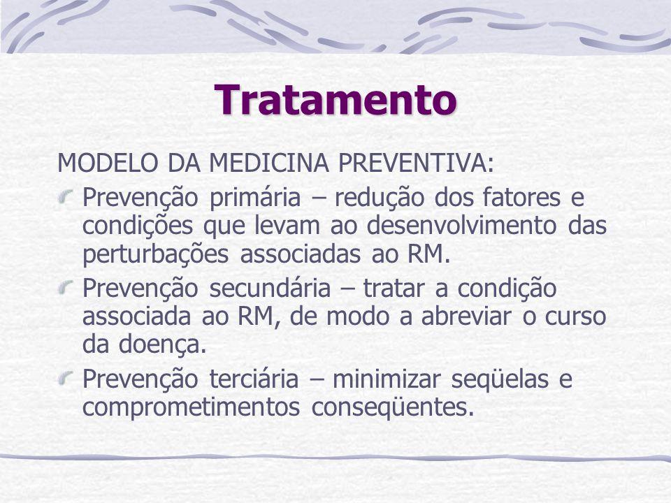 Tratamento MODELO DA MEDICINA PREVENTIVA: