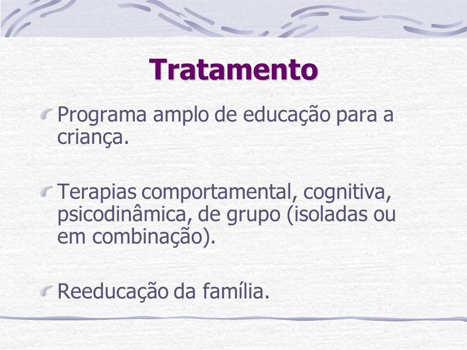 Tratamento Programa amplo de educação para a criança.