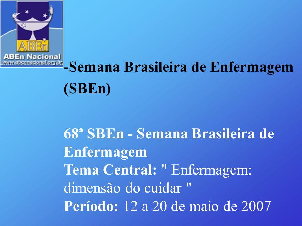Semana Brasileira de Enfermagem (SBEn)
