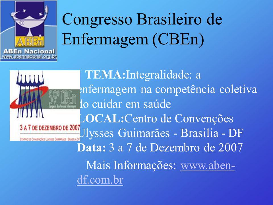 Congresso Brasileiro de Enfermagem (CBEn)