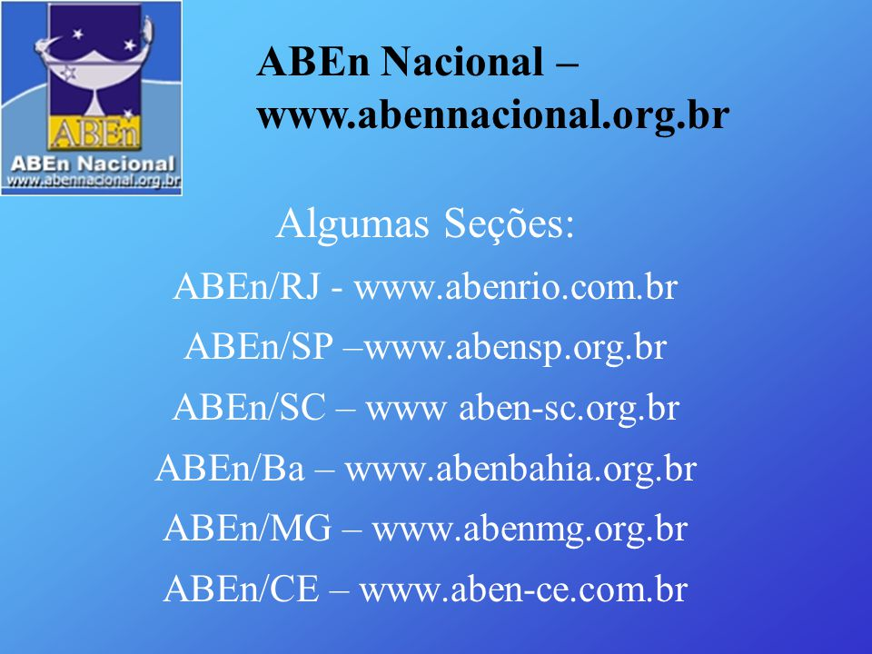 ABEn Nacional – www.abennacional.org.br