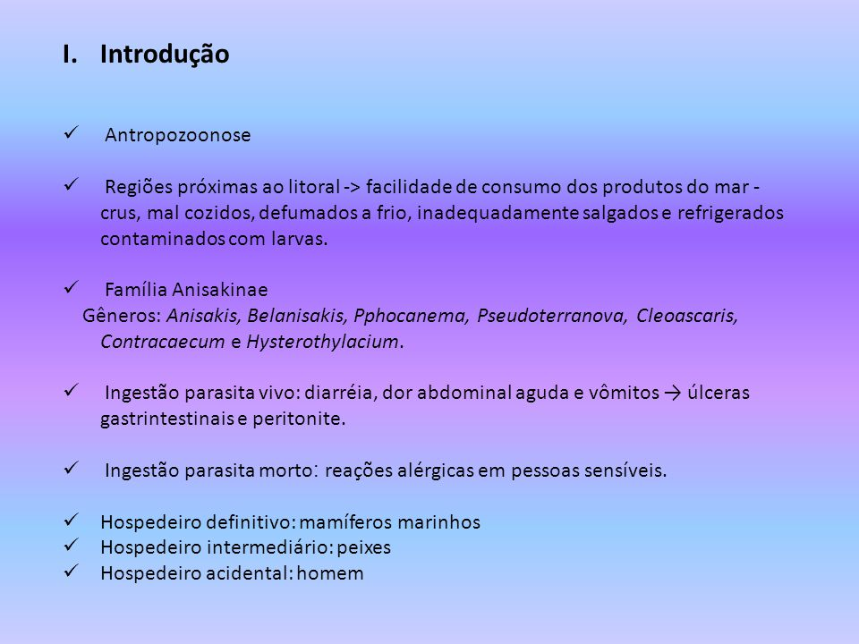 Introdução Antropozoonose
