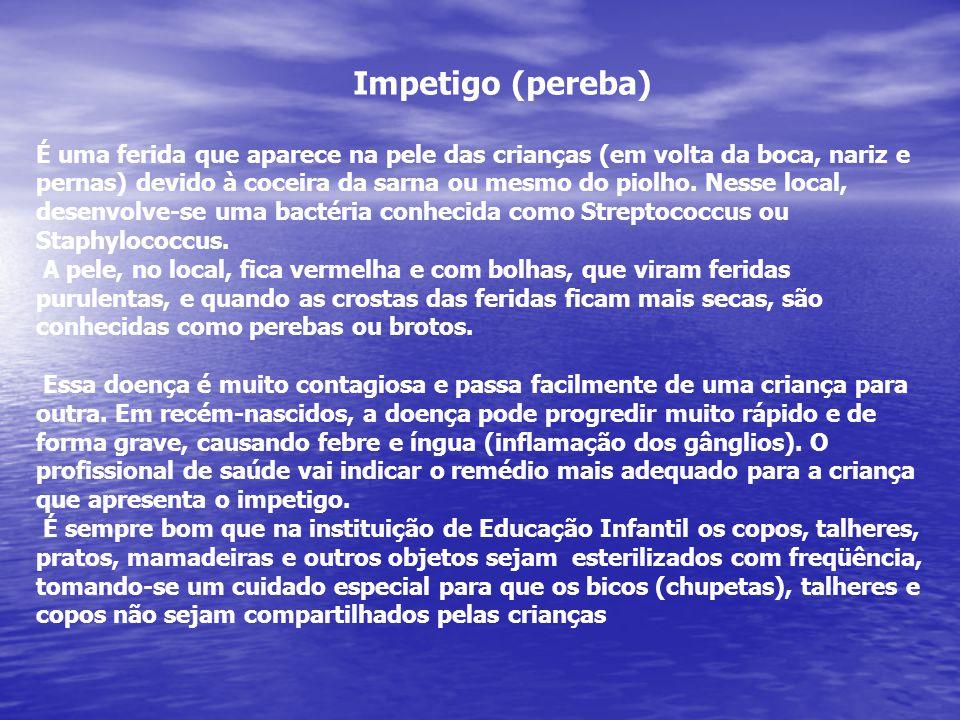 Impetigo (pereba)