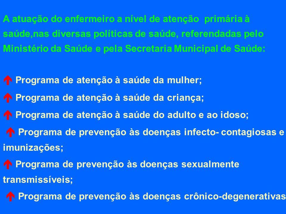  Programa de atenção à saúde da mulher;