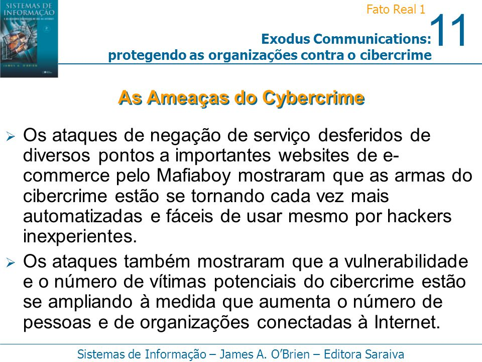 As Ameaças do Cybercrime
