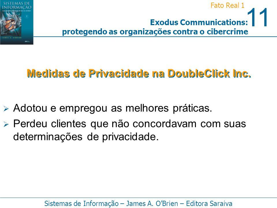 Medidas de Privacidade na DoubleClick Inc.