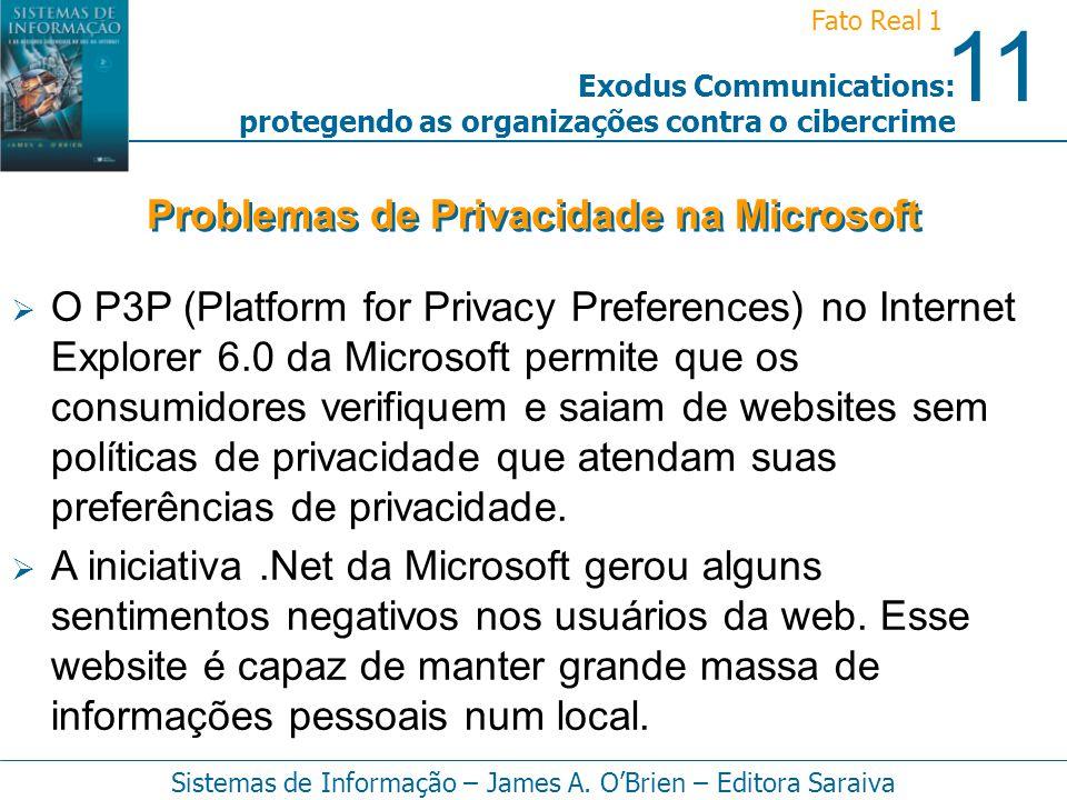Problemas de Privacidade na Microsoft