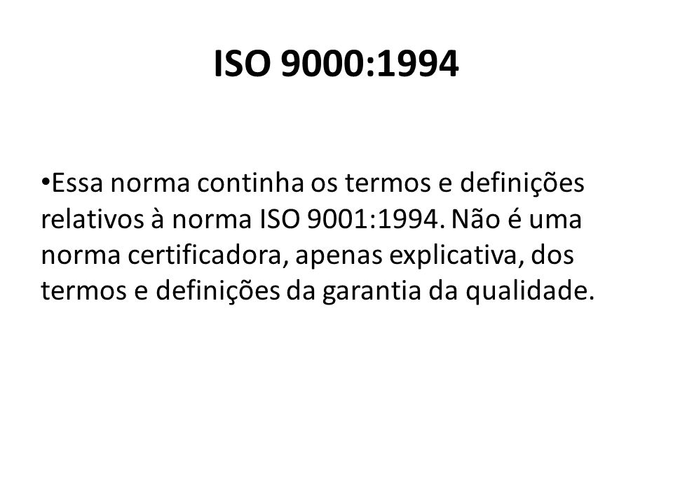 ISO 9000:1994