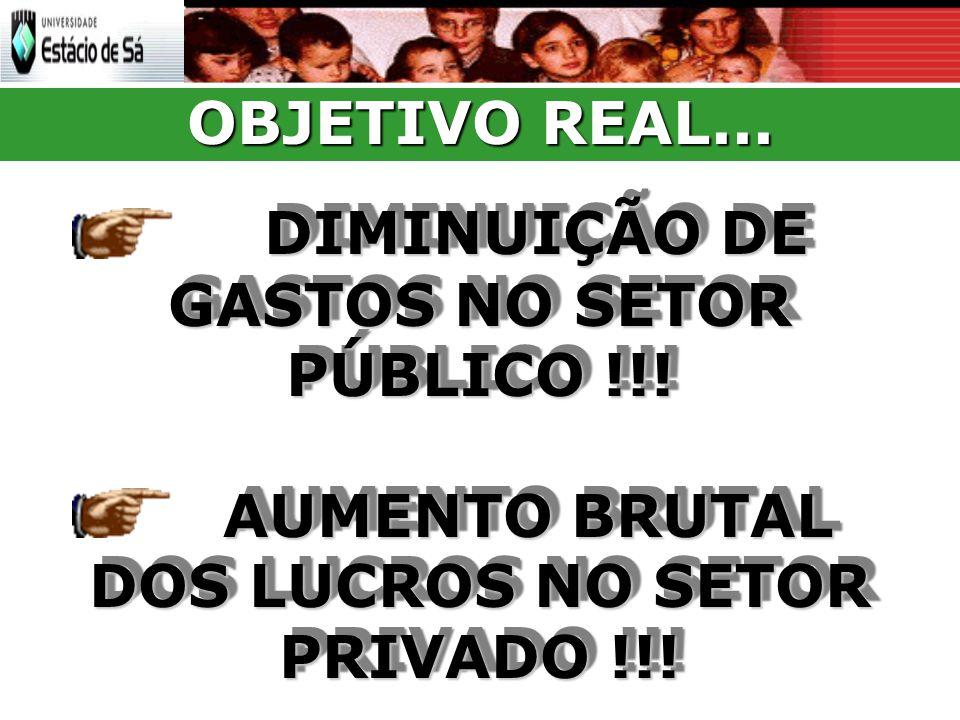AUMENTO BRUTAL DOS LUCROS NO SETOR PRIVADO !!!