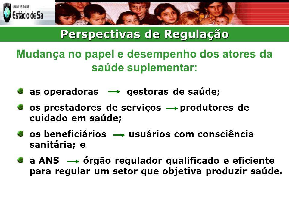 Perspectivas de Regulação