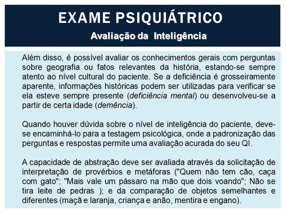 Avaliação da Inteligência
