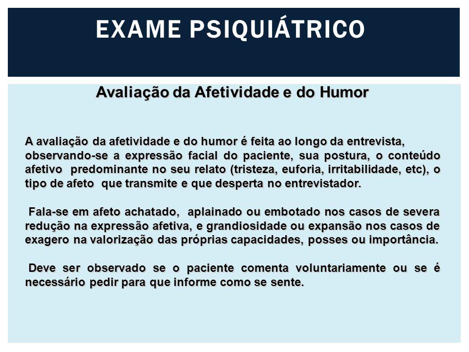 Avaliação da Afetividade e do Humor