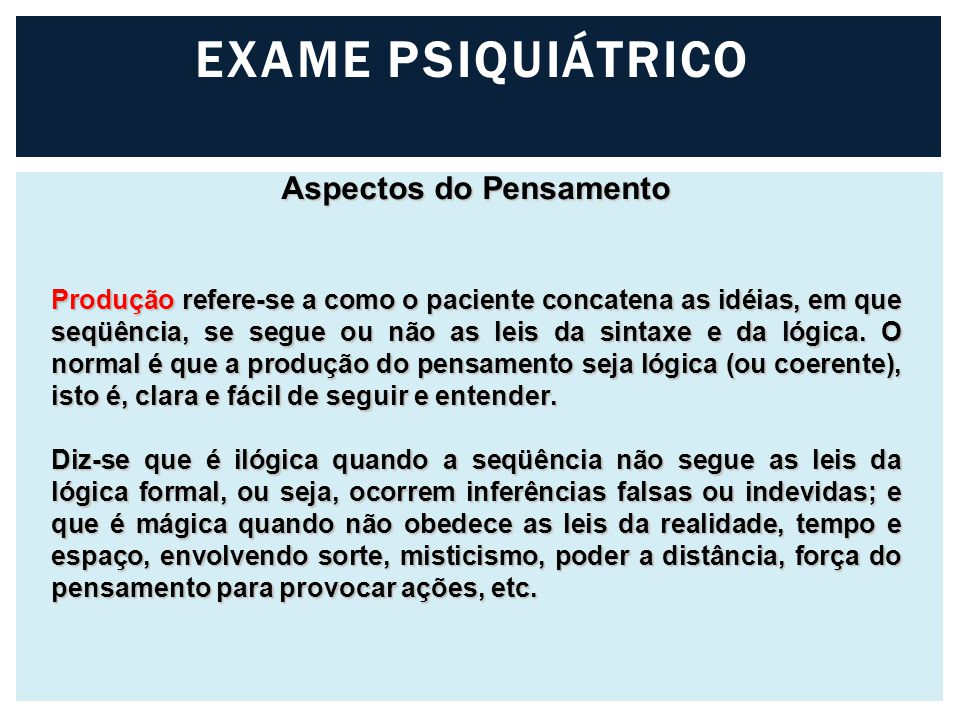 Aspectos do Pensamento