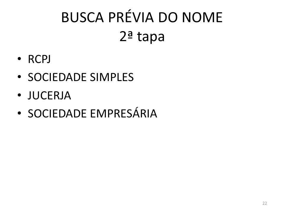 BUSCA PRÉVIA DO NOME 2ª tapa