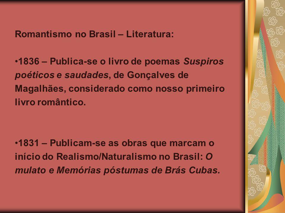 Romantismo no Brasil – Literatura: