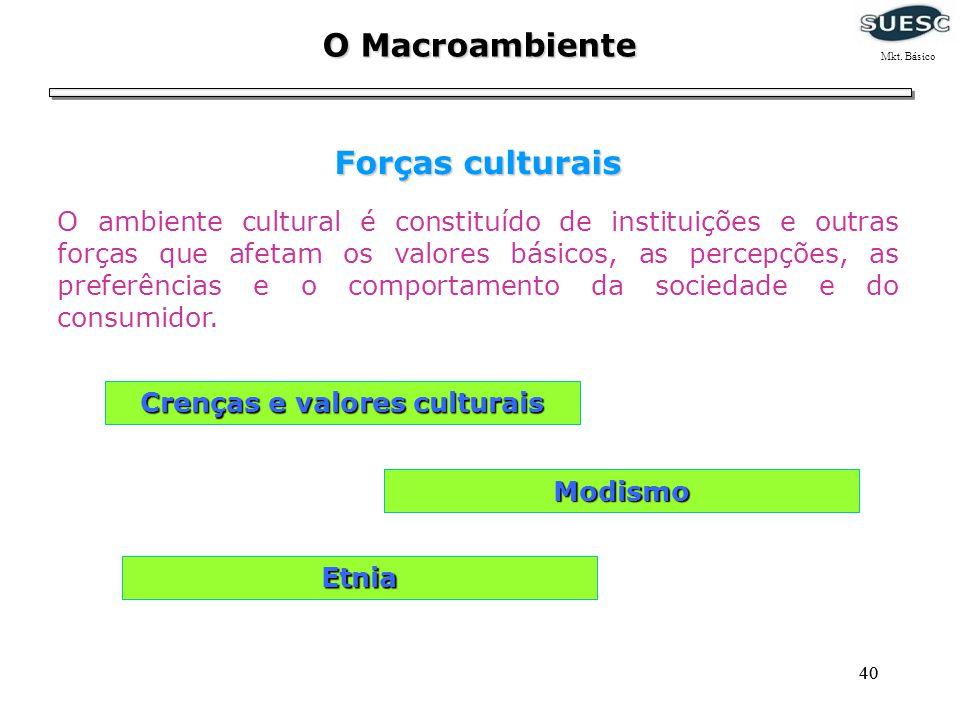 Crenças e valores culturais