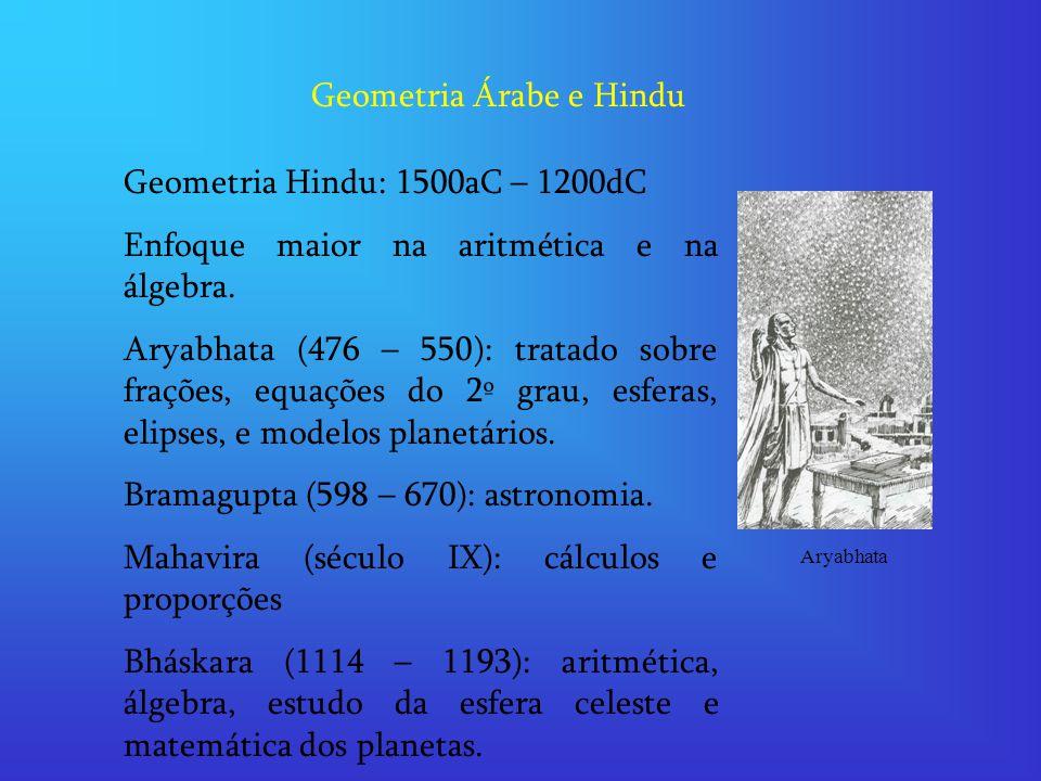 Geometria Árabe e Hindu