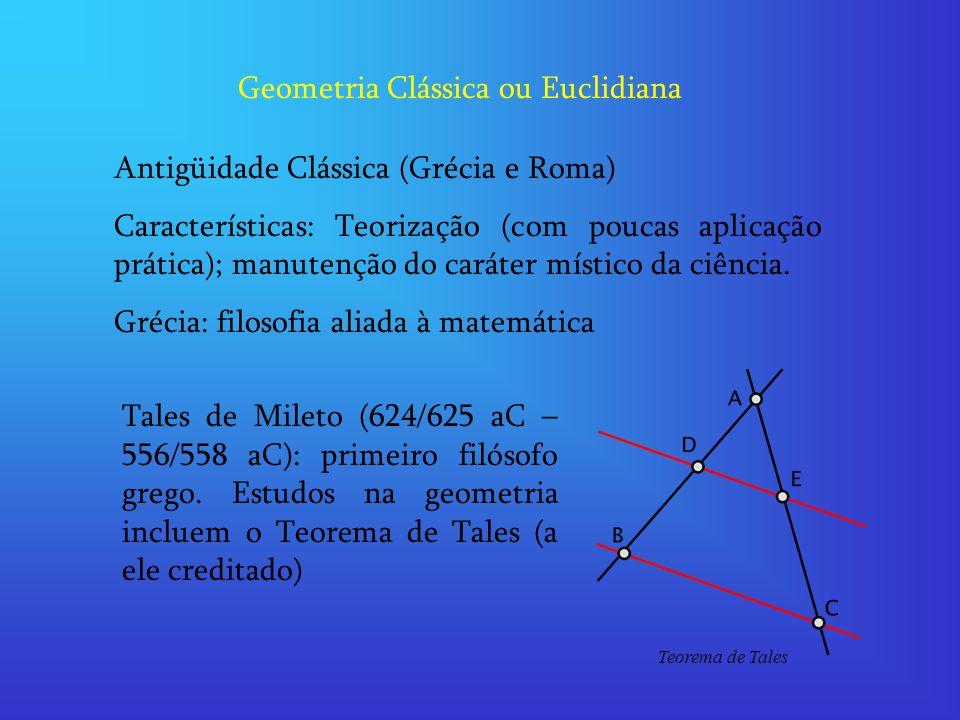 Geometria Clássica ou Euclidiana