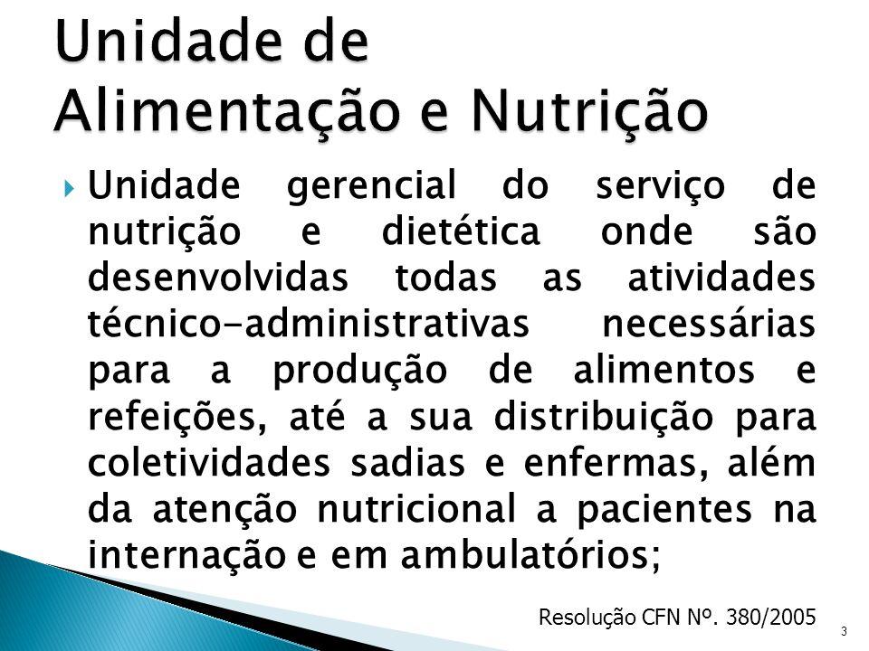 Unidade de Alimentação e Nutrição