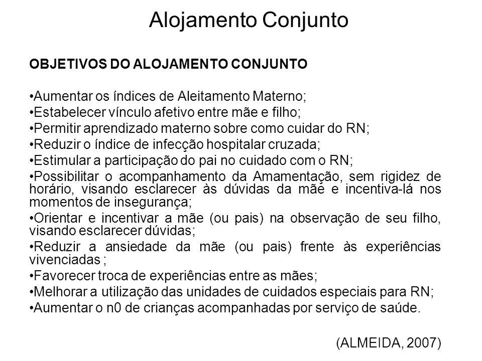 Alojamento Conjunto OBJETIVOS DO ALOJAMENTO CONJUNTO
