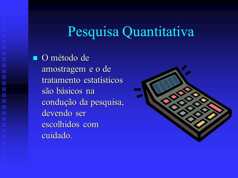 Pesquisa Quantitativa