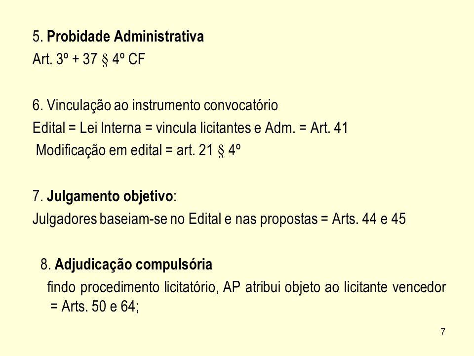 5. Probidade Administrativa