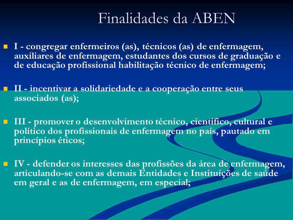 Finalidades da ABEN