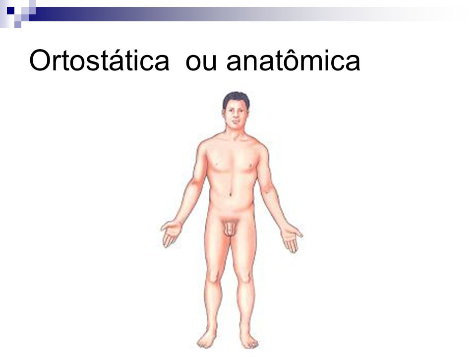 Ortostática ou anatômica