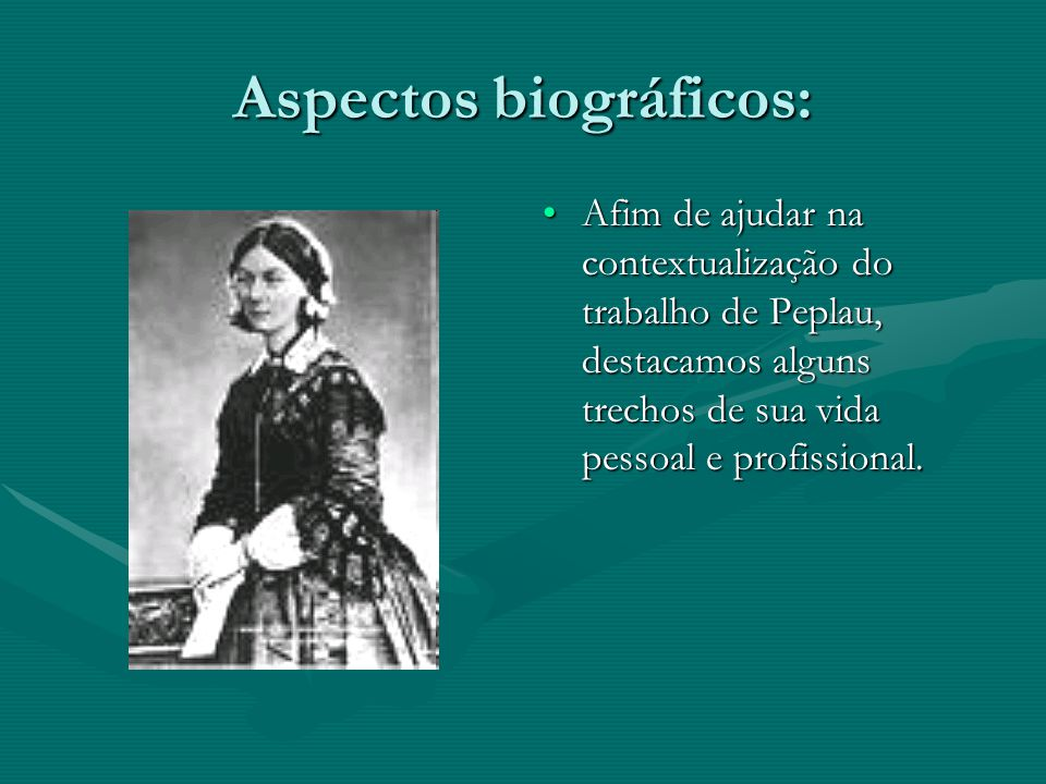 Aspectos biográficos: