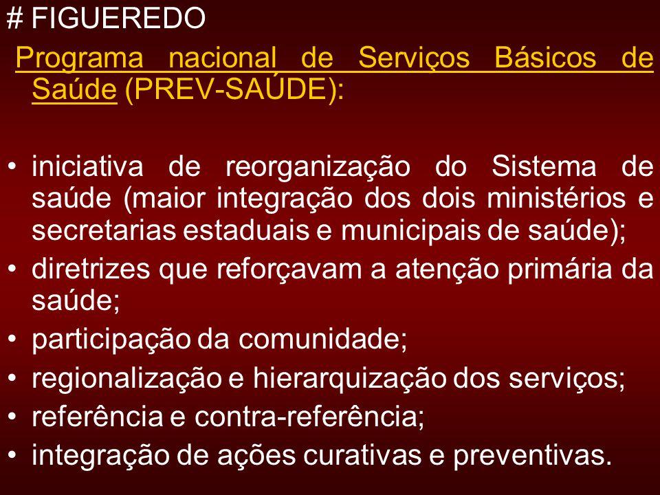 # FIGUEREDO Programa nacional de Serviços Básicos de Saúde (PREV-SAÚDE):