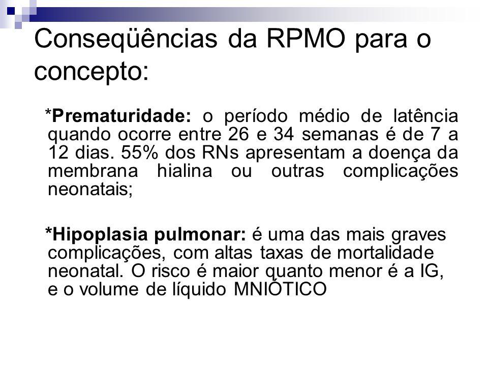 Conseqüências da RPMO para o concepto: