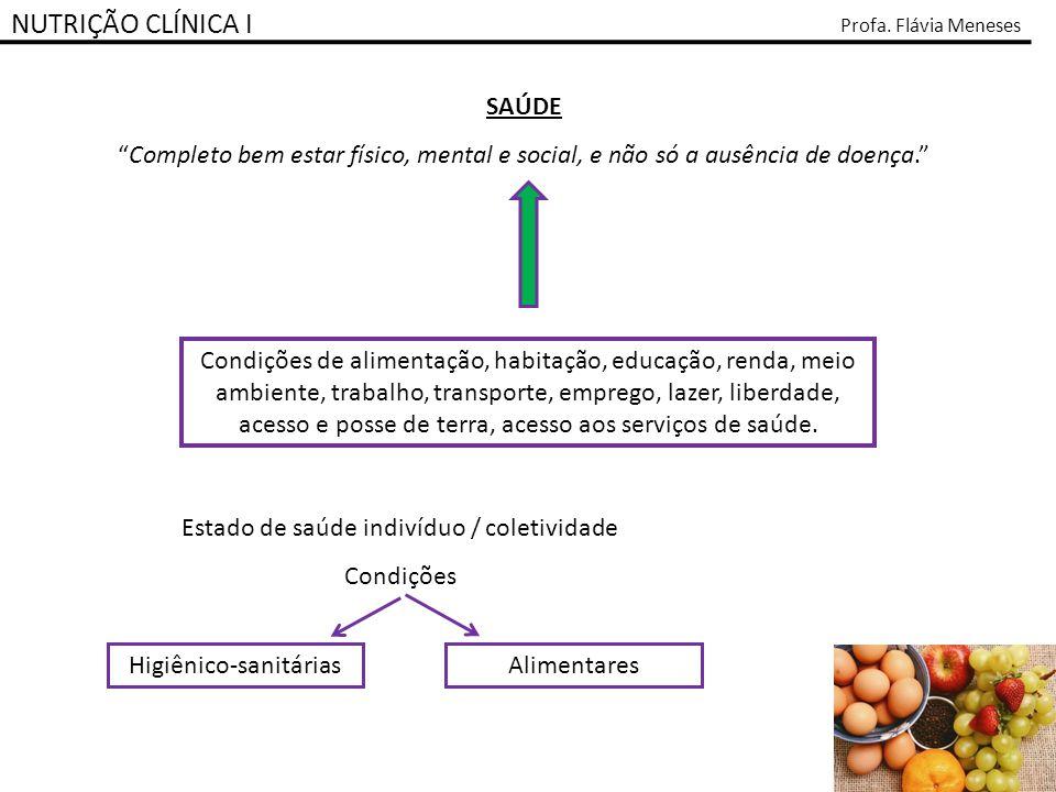 NUTRIÇÃO CLÍNICA I SAÚDE