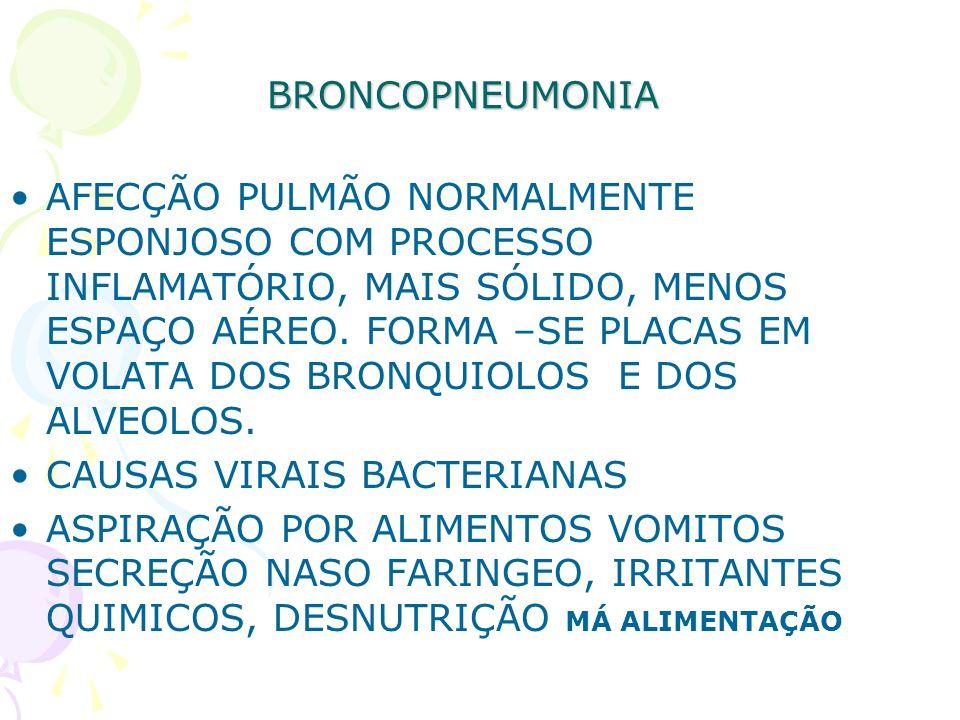 BRONCOPNEUMONIA
