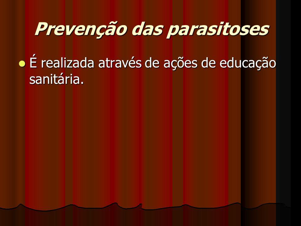 Prevenção das parasitoses