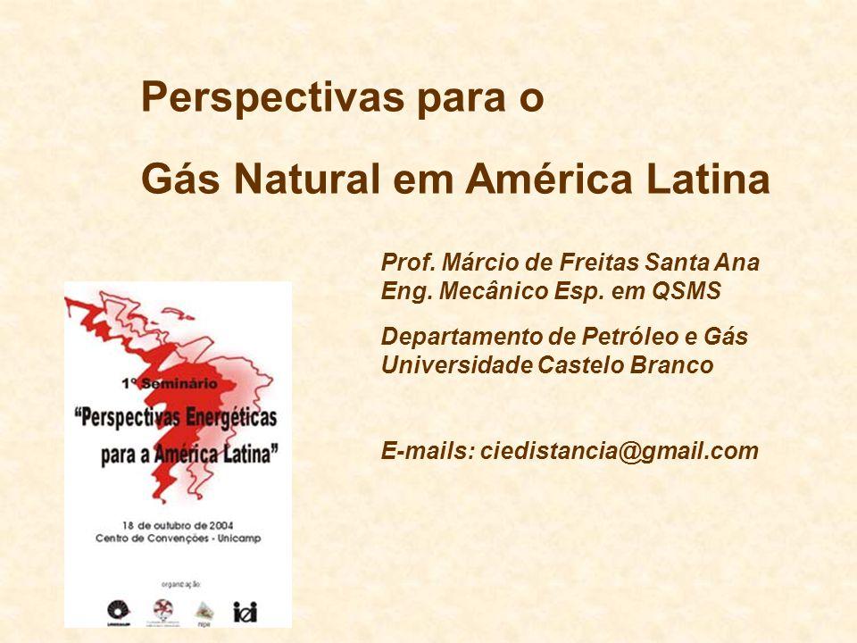 Gás Natural em América Latina