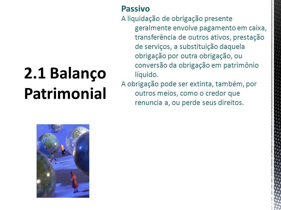 2.1 Balanço Patrimonial Passivo