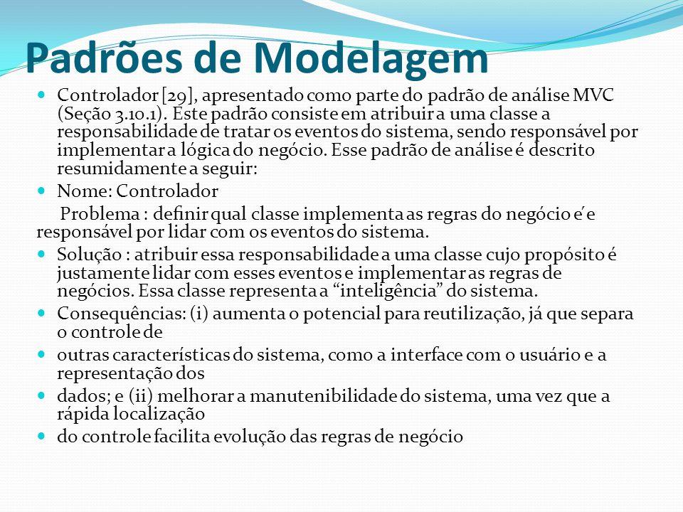 Padrões de Modelagem