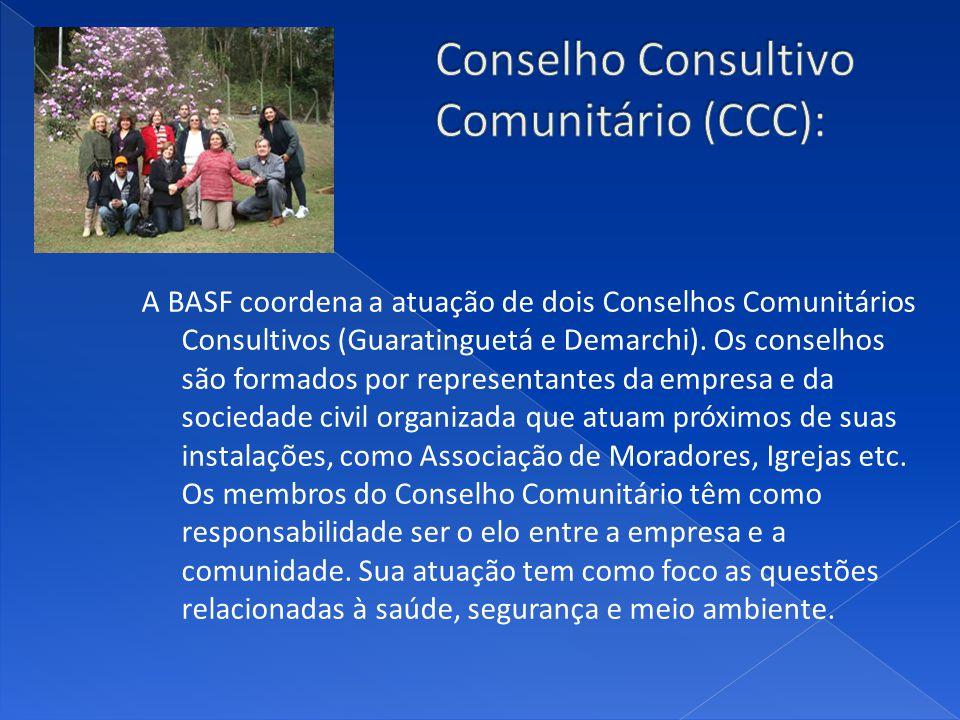Conselho Consultivo Comunitário (CCC):