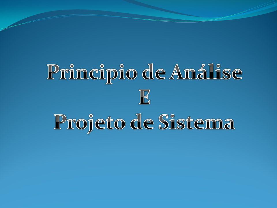 Principio de Análise E Projeto de Sistema